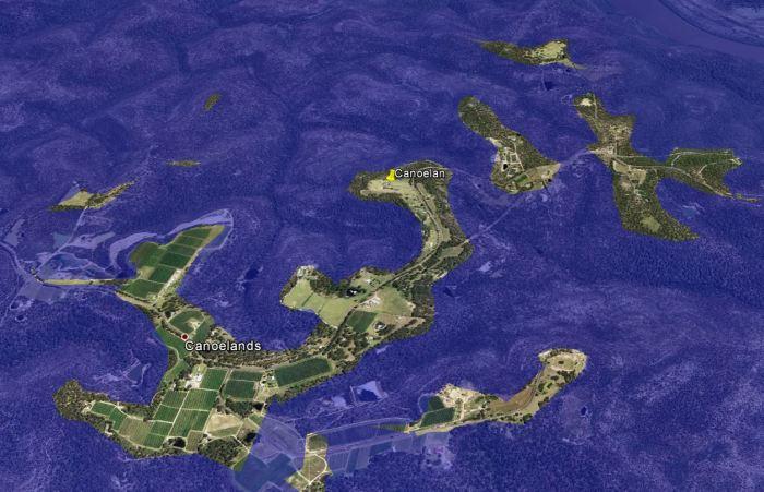 canoelands 25m activation zone